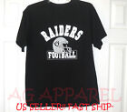 Oakland Raiders Football Helmet Design T Shirt L XL 2XL 100% COTTON New Look!!
