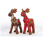 Merry Christmas Lovely Scotland Christmas Elk Plush Toy For Xmas Decoration