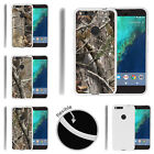 For Google Pixel XL Slim Fitted Flexible TPU Case Tree Camouflage
