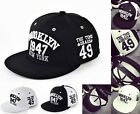 2016 Fashion Snapback Bboy Brim Adjustable Baseball Cap  Hip-Hop Hat Unisex