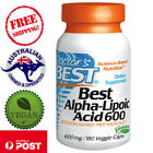 Doctor's Best Alpha-Lipoic Acid 600 mg, 60-180 Vegan Caps, blood glucose control