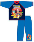 Kids Boys Pokemon Go Long Pyjamas Official Pikachu Ages 5-12 years