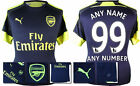 *16 / 17 - PUMA ; ARSENAL 3RD KIT SHIRT SS / ANY NAME/NUMBER = SIZE*