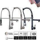 Burst forth originate Kitchen Sink Faucet Single Hole Pull Down Swivel Mixer Tap Deck Mounted