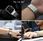 Silicone+Stainless Steel+Milanese Magnet+Leather Band Strap for Apple Watch 2/ 1