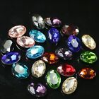 100p 10X14mm crystal oval shape rhinestones for nail art etc. DIY stone beads