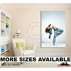 Wall Art Canvas Picture Print - Freestyle Modern Dancer M007 2.3 $297.49 USD