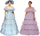 SOUTHERN BELLE GOWN COSTUME Dress Scarlett O'Hara Halloween French Beautiful USA