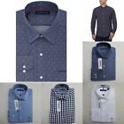 TOMMY HILFIGER MEN CLASSIC SHIRT Size M L XL XXL NWT blue white NEW buttons