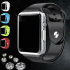 US Bluetooth Wrist Au fait Watch GSM Phone For Android Samsung iOS SIM Camera A1