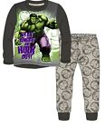 Boys Marvel Incredible Hulk Long Pyjamas Ages 7-13 years