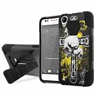 HTC Desire 530/550/555 Armor Case KickStand  [Screen Protector] Design [E]