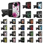 LG [K3] Armor Case KickStand  [Screen Protector] Design [D]