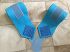 Custom Polo Wraps Teal with Royal Blue Bling Horse or Pony Sizes
