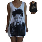 Unisex Billie Joe Armstrong Green Day Vest Tank Top Singlet Sleeveless T-Shirt