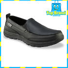 Skechers Mens Work: Relaxed Fit - Hobbes SR Shoes Black Non Slip leather chef