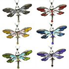 Women Fashion Jewelry Enamel Dragonfly/Butterfly Crystal Pendant Necklace Hot