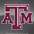 "Texas A&M Aggies TAMU Logo Vinyl Decal Sticker - 4"" and Up"