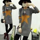 Korean Women Long Sleeve Add Velvet Dress Plus Size Lady Loose Bottoming Shirt