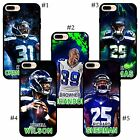 Seattle Seahawks stars Browner Earl Thomas Kam Richard Russell iPhone case cover