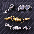 5sets Round Ball Magnetic Clasp Lobster Connector Set Necklace Bracelet Jewelry