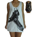 Unisex Converse Vest Tank Top Singlet Dress Sleeveless T-Shirt