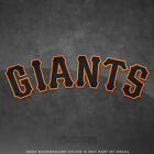 "San Francisco Giant Jersey Logo Decal Sticker MLB - 4"" and Larger - Glossy on Ebay"