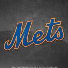 "New York Mets Jersey Logo Vinyl Decal Sticker MLB - 4"" and Larger - Glossy on Ebay"