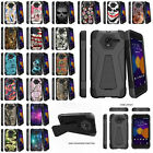 For Alcatel TRU (MetroPCS) Advance Protective Dual Layer Hybrid Case with Stand