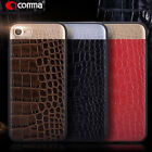 Leather Case For iPhone 7/ 7 Plus Shockproof Back Cover Fake Crocodile Design