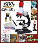 1200x Magnification Kit,Laboratory Biological Home School Educational MICROSCOPE