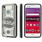 LG [Tribute HD] [X Style] LS676 Shock Absorbent Dual Armor Case  Design [I]