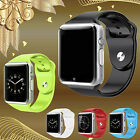 A1 Sports Bluetooth Watch Phone Mate SIM Card Camera for Android Samsung iPhone