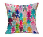 Home Decor Pillow case Cotton Blend with Pineapple Bed Car Office Cushion Cover