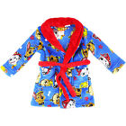 new kids Boys Paw Patrol winter dressgown robe pyjama pjs size 2 3 4 sleepwear