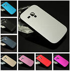 MOTOMO ALUMINIUM METAL HARD BACK CASE COVER FOR SAMSUNG GALAXY SDuos 2 7562 7582