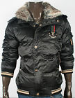 New Fashion Mens Fur Hood Zipper Padding Jacket Jumper Blazer Parka Outwear Top
