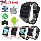 LG118 Waterproof Phones Bluetooth Smart Watch for Samsung HTC iPhone IOS Android