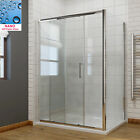 Shower Sliding Doors Shower Enclosure with Tray Cubicle 8mm Easy Clean Glass