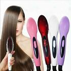 ELECTRIC Hair Straightening STYLING Ceramic HOT PROFESSIONAL BRUSH COMB IRONS