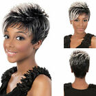 New Fashion Sexy Synthetic Fluffy Slightly Curly Wavy Women Wigs Short Hair WigP