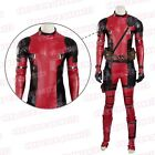 X-Men Deadpool Wade Overall Battleframe Cosplay Costume Upgrade Outfit Clothing