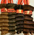 Sepia 100% Human Hair for Weaving - DEEP WAVE(D.W.W) - FREE SHIPPING!!-CLOSEOUT