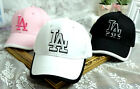 LADY'S GIRL'S LOS ANGELES LA BASEBALL 3D EMBROIDERY  CAP HAT ADJUSTABLE. 2
