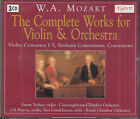 Mozart: Complete Works for Violin and Orchestra Emmy Verhey 3CD FASTPOST
