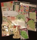 2/3 OFF $100-120 Retail Scrapbook Craft Lot Paper Packs Adhesives Embellishments