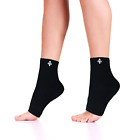 Copper Infused Fit Series Performance Compression Pro Ankle Sleeve Brace -1 Pair