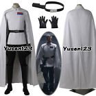 Rogue One Director Orson Krennic Uniform Cosplay White Costume Cloak