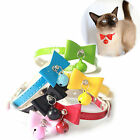 R Cat Collar Puppy Pet Kitten Adjustable Safety Buckle Neck Strap With Bell