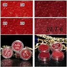 4Pcs  Lasting Pigment Beauty Cosmetic Eyeshadow Makeup Loose Glitter Powder